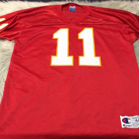best service c42aa decb4 Chiefs colors blank jersey